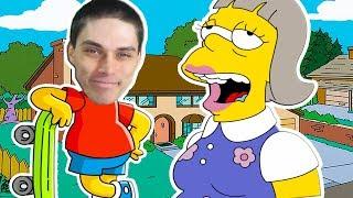Я БАРТ СИМПСОН + ГОМЕР ТЕПЕРЬ МАМА ! - Simpsons Hit And Run Прохождение #2
