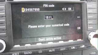 Repeat youtube video How To Find Your VW Radio PIN Code And Get Out Of SAFE Mode
