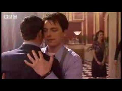 Captain Jack kisses Captain Jack - Torchwood - BBC