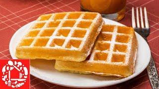 Бельгийские вафли на завтрак. Легкий рецепт вафель для электровафельницы
