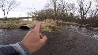 Fishing Hidden River Backwaters!!