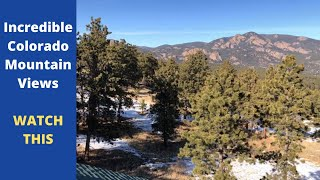 Looking for IN-Credible Colorado Mountain Views? WATCH THIS -----