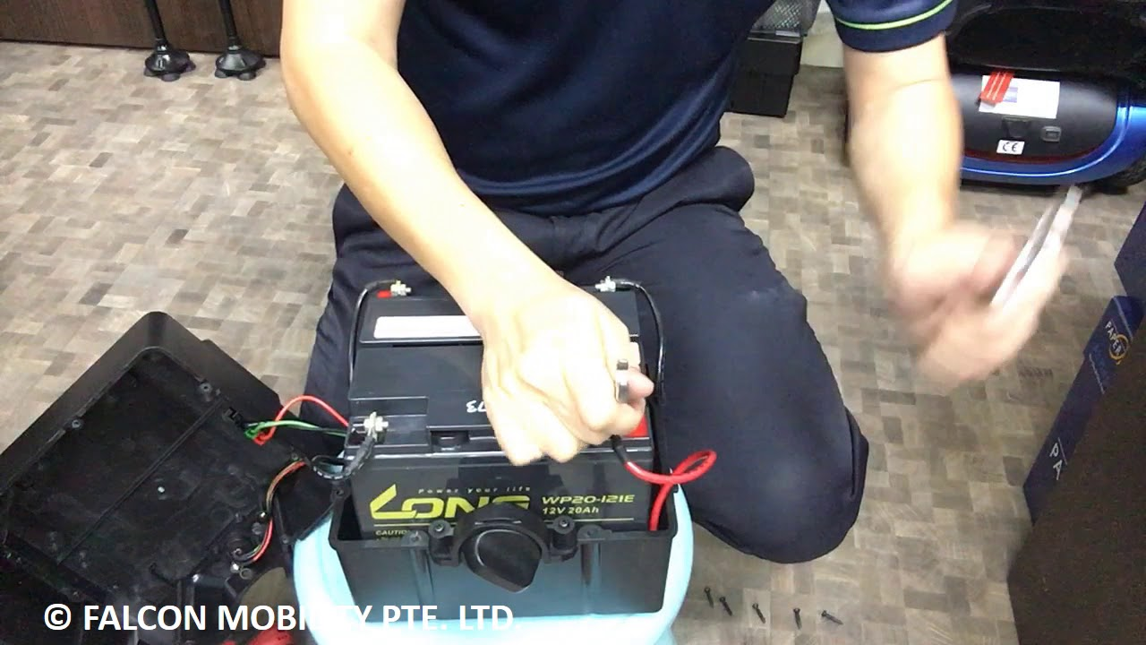 How to Change Batteries for Phoenix HD Mobility Scooters Rascal Scooter Battery Wiring Diagram on