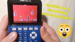 GAMES ON GRAPHING CALCULATOR!!!! *Tutorial*