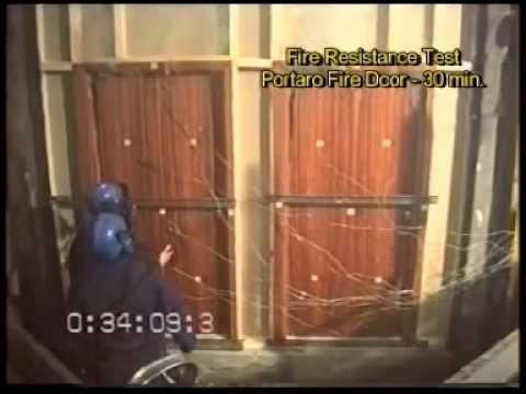& VICAIMA - Fire Doors - Fire Resistant Test - YouTube pezcame.com