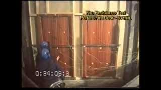 VICAIMA - Fire Doors - Fire Resistant Test
