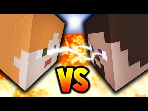 MINECRAFT STEVE vs ALEX!