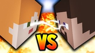 MINECRAFT STEVE vs ALEX!