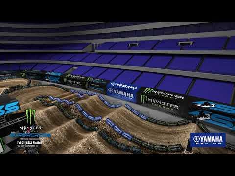 Yamaha Animated Track Map: Arlington 2020