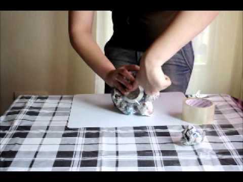C mo hacer un volc n reutilizando materiales youtube for Materiales para un vivero forestal