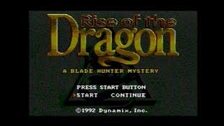 [メガドライブ]ライズ・オブ・ザ・ドラゴン ~ブレイド・ハンター・ミステリー~ / Rise of the Dragon -A BLADE HUNTER MYSTERY-