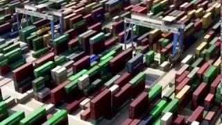 Khalifa Port one of the fasts growing port in the region/ ميناء خليفة أحد أسرع الموانئ نموا فالمنطقة