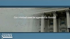 Can criminal cases be appealed in Florida?