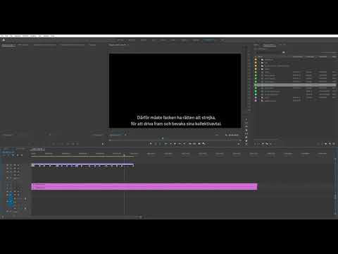 How to move multiple captions in Premiere Pro