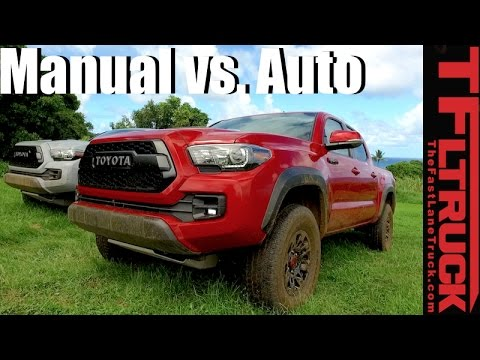 2017 tacoma manual transmission mpg