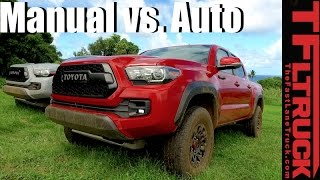 2017 Toyota Tacoma TRD Pro: Manual vs. Automatic Off-Road Review