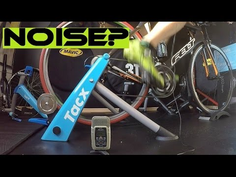 Tacx Trainers Noise Test + What Turbo Trainer To Choose For Indoor Cycling...