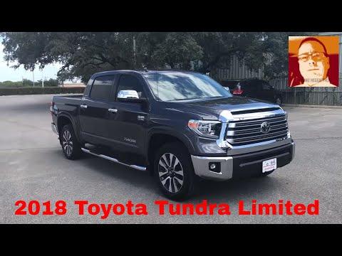 2018 Toyota Tundra Crewmax Limited  Full Walk Around Video
