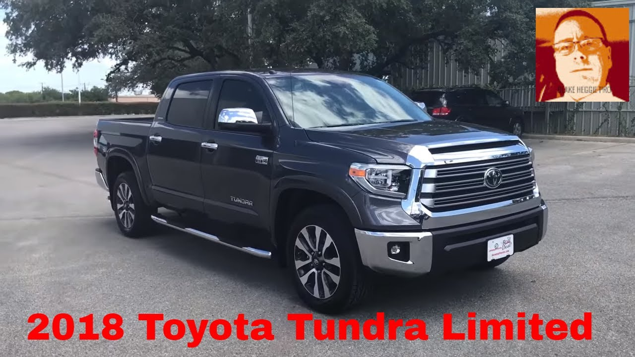 Toyota Tundra Limited >> 2018 Toyota Tundra Crewmax Limited Full Walk Around Video ...