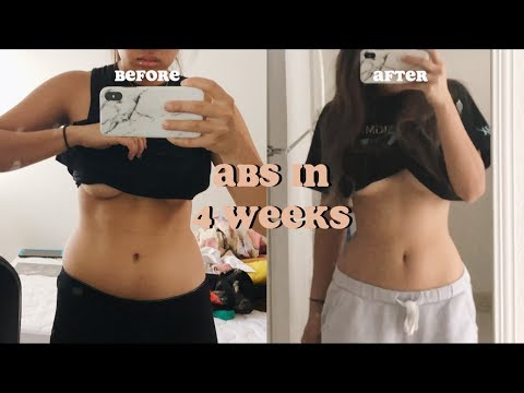 Abs In 4 Weeks | Trying Out Chloe Ting's 2 Week Ab Challenge