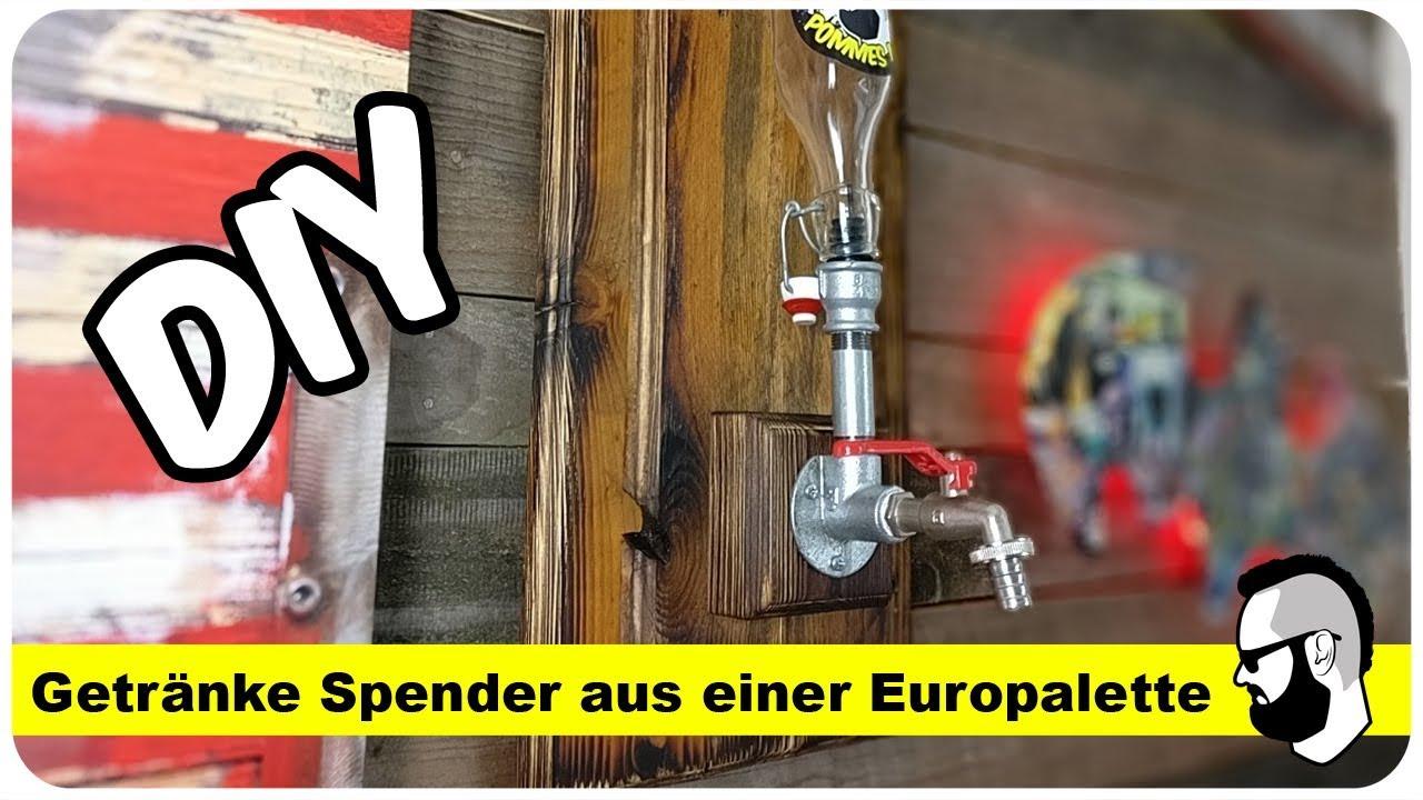 whiskey spender (dispenser) selber bauen - youtube