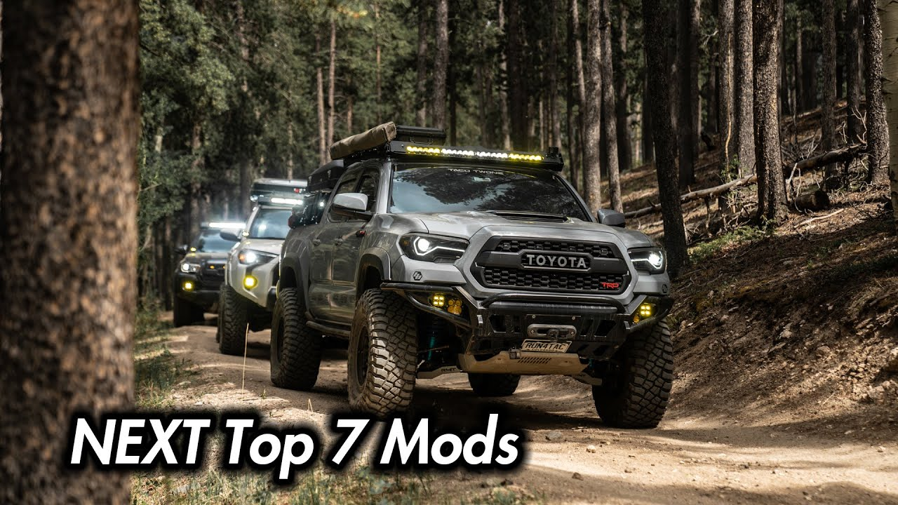 NEXT 7 Mods for Your 3rd Gen Toyota Tacoma (2016-2020)