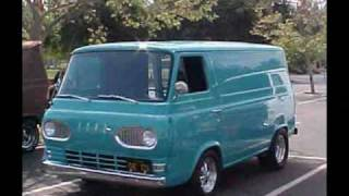 1961-67 FORD ECONOLINE VANS & PICKUPS ECONO-WEST ANNUAL MEET ROSE BOWL PASADENA