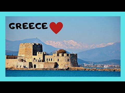 A tour of historic Nafplio (Ναύπλιο), the 1st capital of Greece (1824)