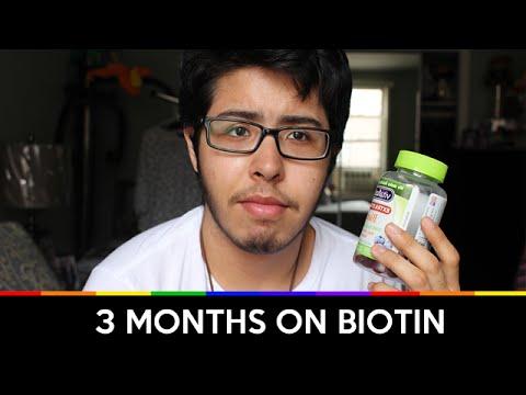 3 Months on Biotin
