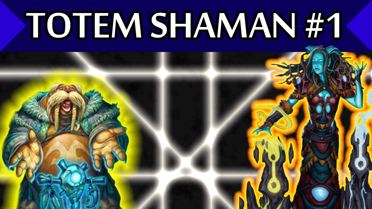 ̆ Totem Shaman #1 ̆ Hearthstone Tgt  Youtube
