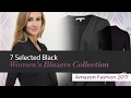 7 Selected Black Women's Blazers Collection Amazon Fashion 2017