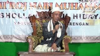 """KH.MUSLEH ADNAN """" Dalam Peringatan Isro'Mi'roj Musholla Nurul Hidayah Desa Ragung"""