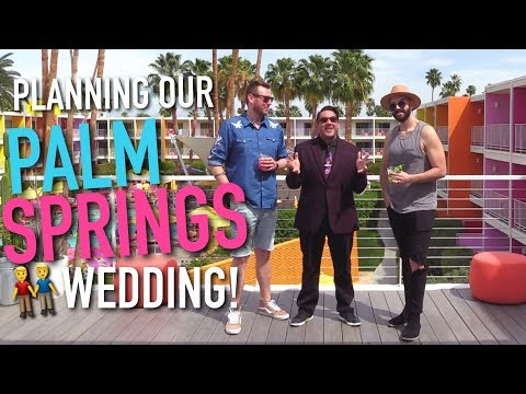 PLANNING OUR BIG GAY WEDDING!