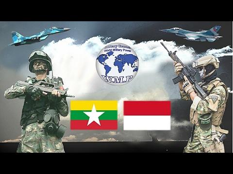 Myanmar VS Indonesia Military Power Comparison 2016 - 2017