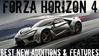 Forza Horizon 4 | Top New Features & Additions to Horizon 4!(Gameplay, News!)