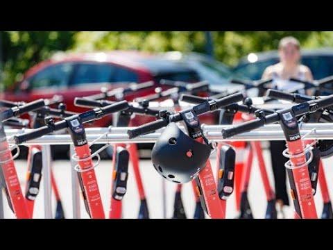 E-Scooter in Hamburg: Mobil dank Diesel