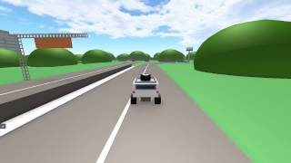 A Normal Day in ROBLOX Shorts - Driving an Offroad Jeep