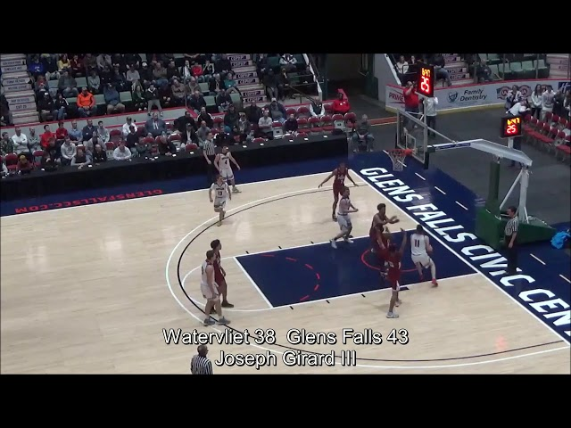 Game Highlights Boys' Varsity: Watervliet 70 vs Glens Falls 88
