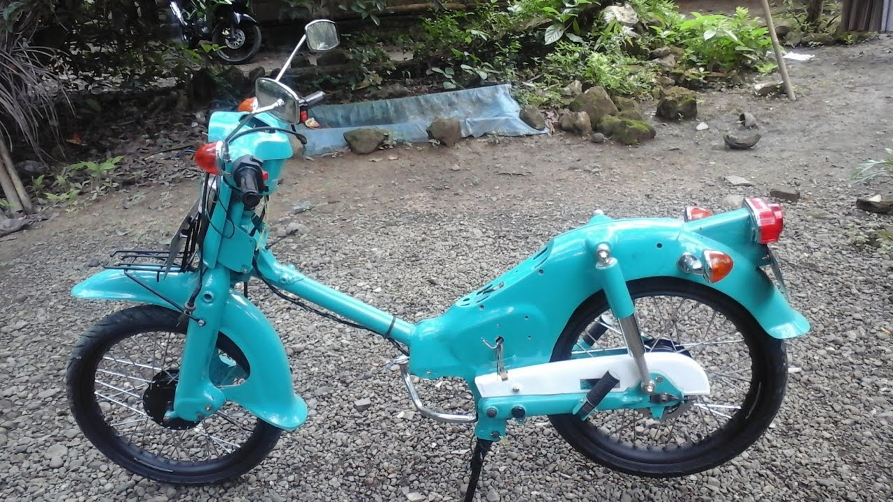 Honda C70 Pispot Modifikasi
