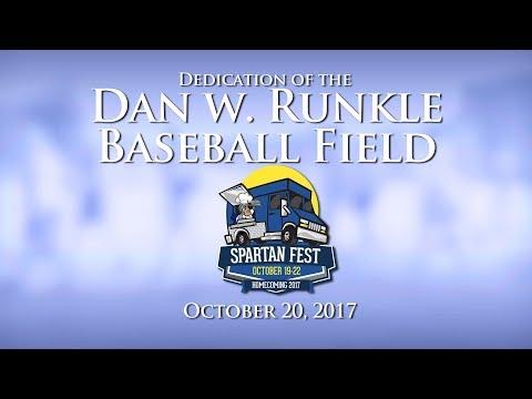 University of Dubuque: Dedication of the Dan W. Runkle Baseball Field