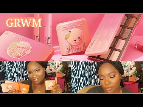 GRWM: Two Faced Sweet Peach Collection | Dania Lanese|