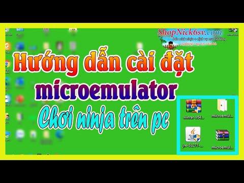 cach hack ninja school online tren may tinh - THANH KC ► Hướng dẫn cài đặt ''microemulator'' chơi ninjaschool trên pc