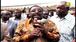 Fracas At A Funeral in Migori Over ODM Protocol