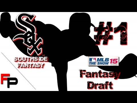 MLB 15 The Show - White Sox Franchise - Southside Fantasy - E1 - Fantasy Draft