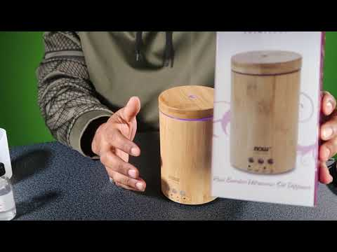 now-solutions-ultrasonic-real-bamboo-essential-oil-diffuser-review!!!