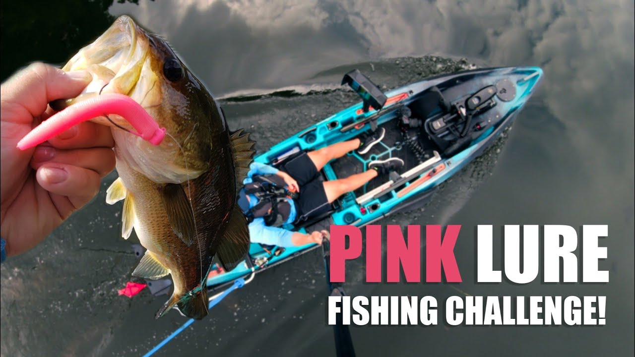 2020 Pink Lure Fishing Challenge (for charity)