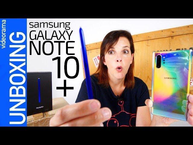 Samsung Galaxy Note 10+ -¿MÁS que un S10 con lápiz?