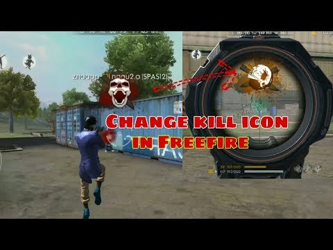 How To Change Kill Logo In Free Fire Youtube