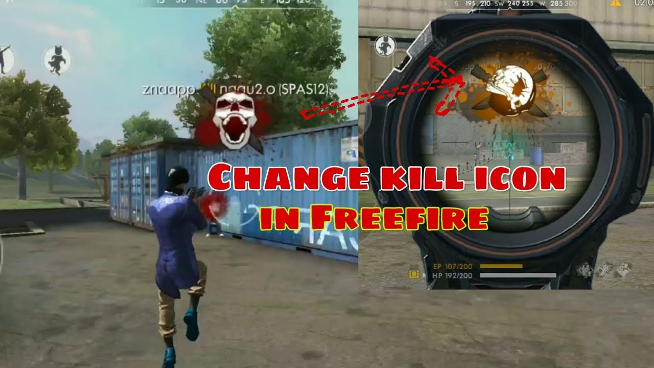 How To Change Kill Logo In Free Fire