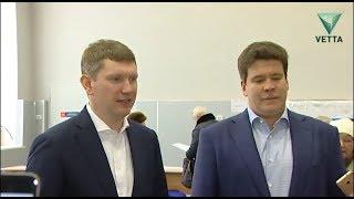 Максим Решетников и Денис Мацуев проголосовали на выборах президента